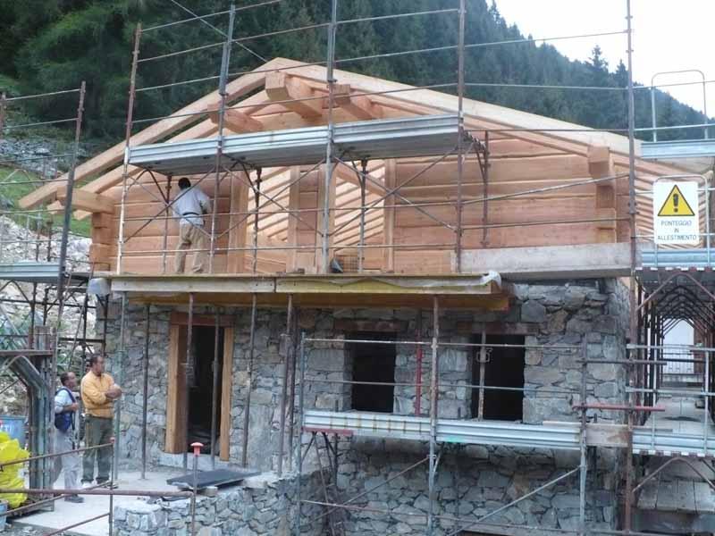 realizzazione casa in legno edilizia bio architettura