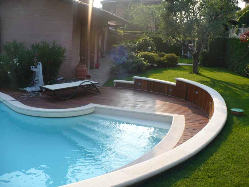 Realizzazione piscina in legno coperture - Piscina calusco d adda ...